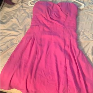Express neon purple dress size 6